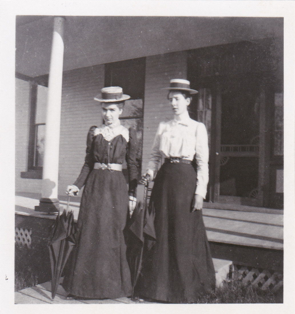Martha & Sarah Nelson 1890