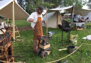 Dog Hollow Rendezvous Event Blacksmith